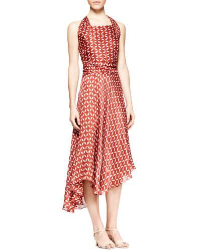 Loam Printed Halter Dress