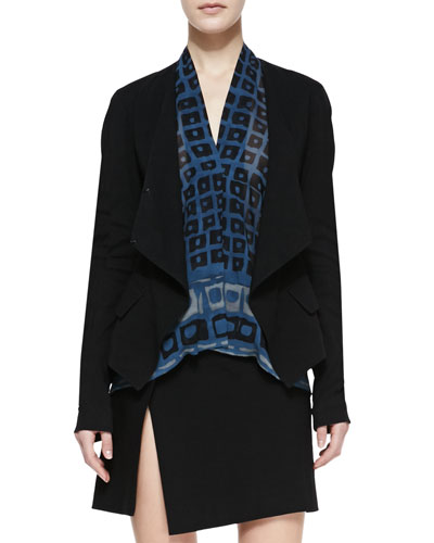 Wrap Jacket, Black