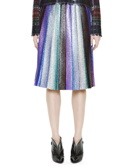 Marco De Vincenzo plaid pleated skirt Cheap Extremely Fashion Style For Sale Visit Online Discount Really Cheap Purchase tP3XO4n50b