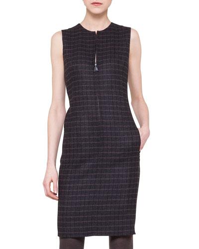 Wool Reversible Dress