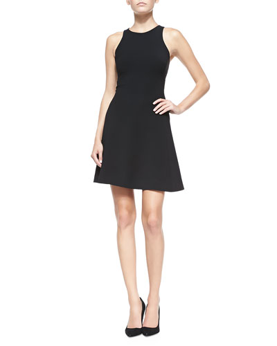 Yisbelle Sleeveless Fit-and-Flare Dress