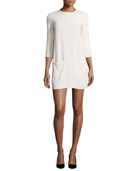 c1f999fb72 THE ROW Marina 3 4-Sleeve Mini Dress