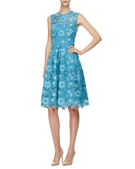 Lela Rose Grace Full Skirt Fl Lace