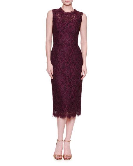 Sleeveless lace dress Dolce & Gabbana eFoixJ