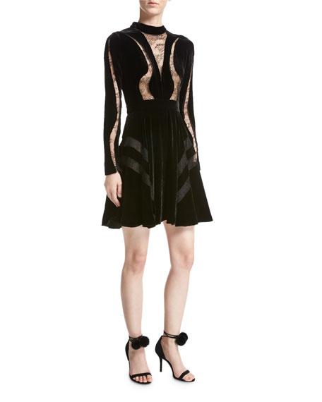 Scalloped Mini Dress Elie Saab cIbqZEc
