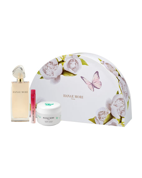Hanae Mori Limited-Edition Butterfly Fragrance Deluxe Gift Set