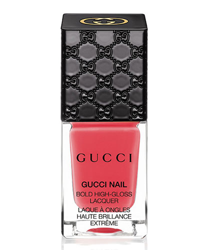 Gucci Makeup Gucci Bold High-Gloss Lacquer, Crushed Coral, 10 mL
