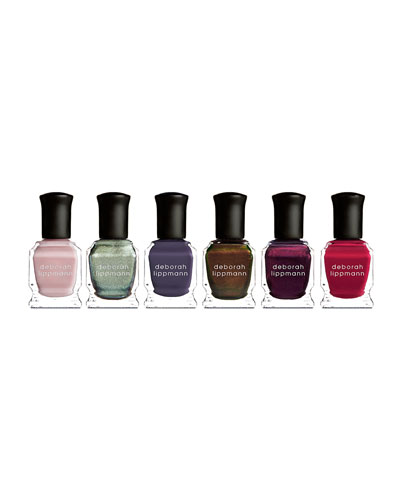 Deborah Lippmann 15th Anniversary 6-Piece Fashion-Sized Lacquer Set