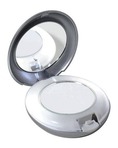 LED Lighted 10X/1X Compact Mirror