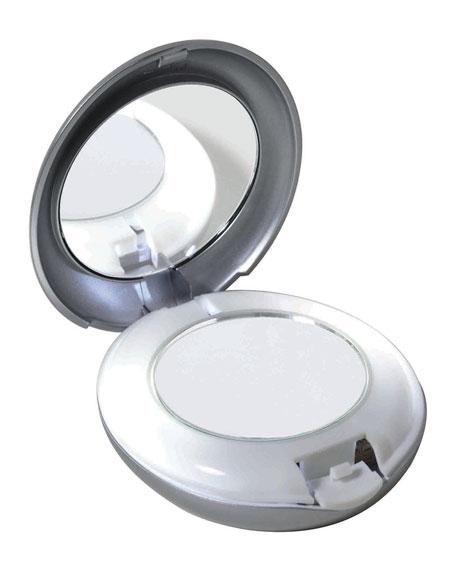 Tweezerman Led Lighted 10x 1x Compact Mirror