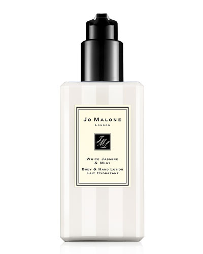White Jasmine & Mint Body & Hand Lotion, 250ml