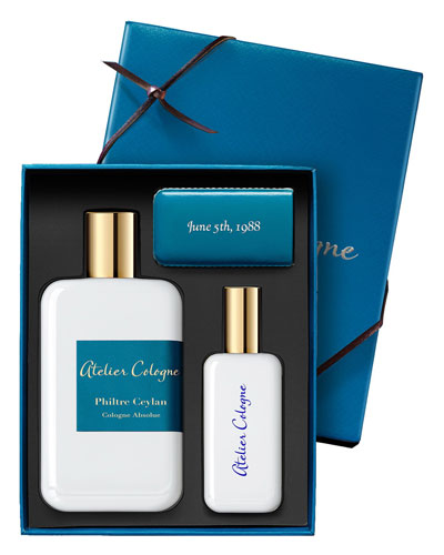 Philtre Ceylan Cologne Absolue, 200 mL with Personalized Travel Spray, 30 mL