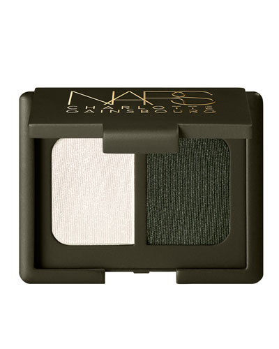 Limited Edition Charlotte Gainsbourg Collection Velvet Duo Eyeshadow, Rue Allent