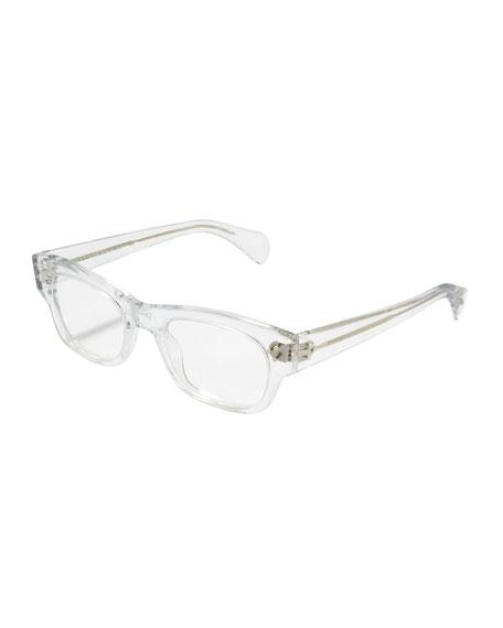 58cf3155f88f Oliver Peoples Bradford Clear Fashion Glasses