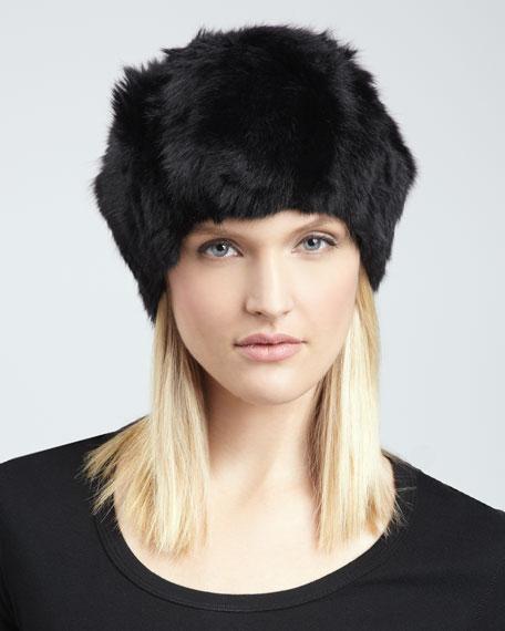 Adrienne Landau Rabbit Fur Hat 524ad7377b7