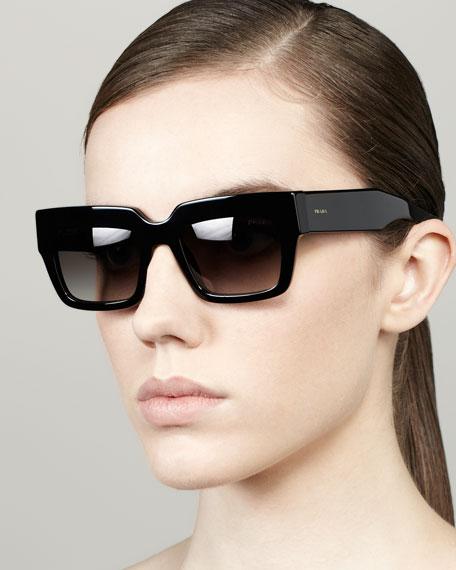 d069498482be Prada Poem Catwalk Square Sunglasses