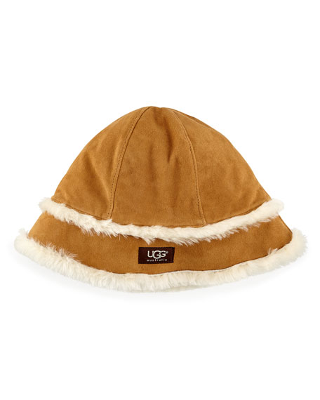 e0ed6fd9a0a UGG Australia City Bucket Hat with Shearling