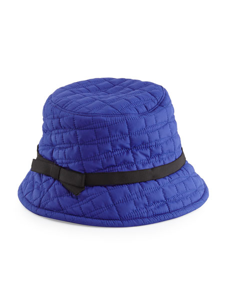 91879349332 kate spade new york logo quilted bucket hat