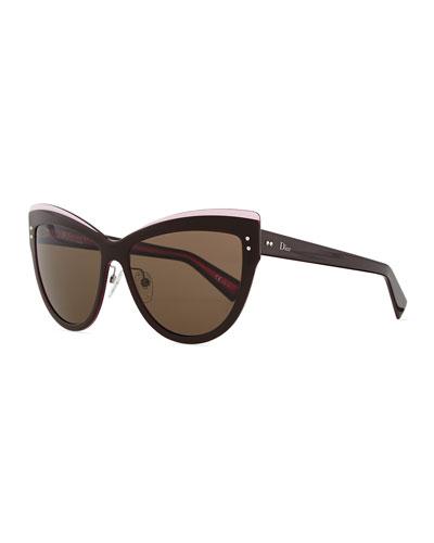 Exquise Cat-Eye Sunglasses