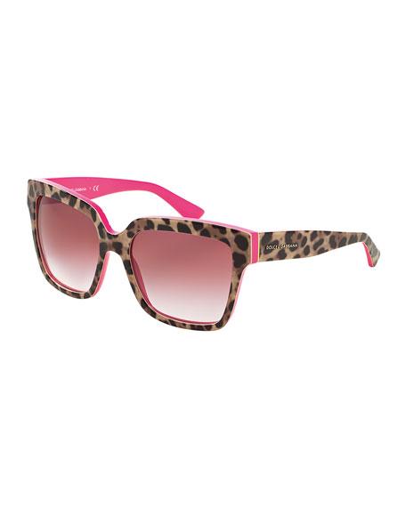 dfeef83f061 Dolce   Gabbana Square Acetate Sunglasses