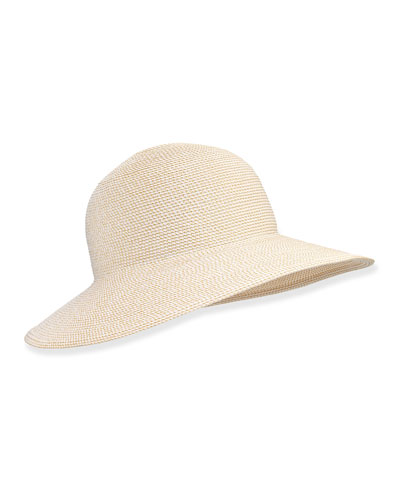 Squishee IV Floppy Hat, Cream