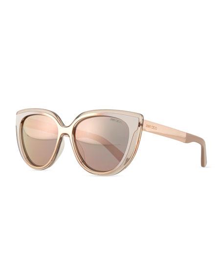 a86f783ef40a Jimmy Choo Cindy Cat-Eye Sunglasses