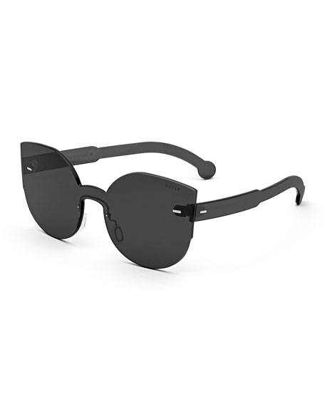 cat eye sunglasses - Black Retro Superfuture sUVDJr1vs