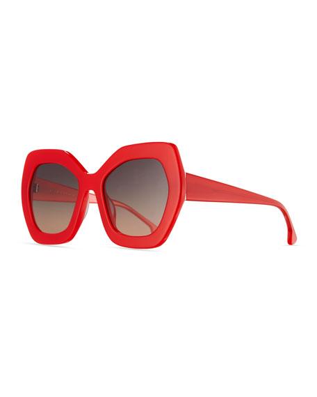 Red Sunglasses  designers alice olivia sunglasses at neiman marcus