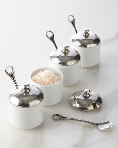 Four Salt Cellars