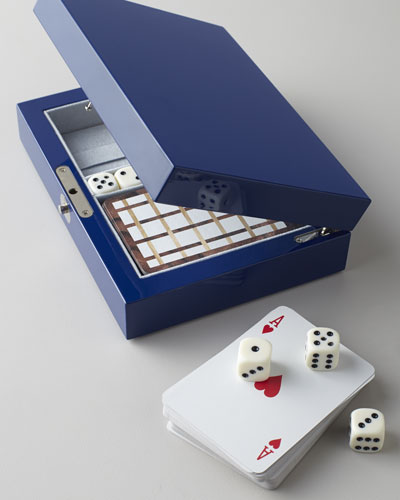 Game Box with Cards & Dice