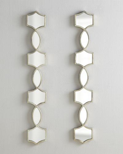 Vizela Mirrored Decor, Pair