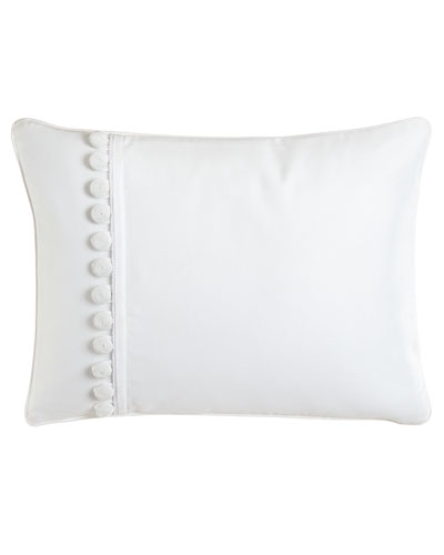 "Pillow with Buttons, 12"" x 16"""