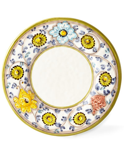Four Primavera Dinner Plates