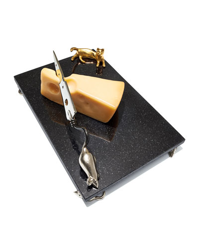 Cat & Mouse Cheese Board