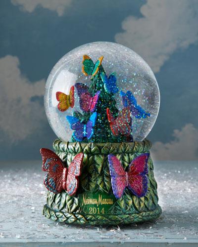 Musical Christmas Snow Globes