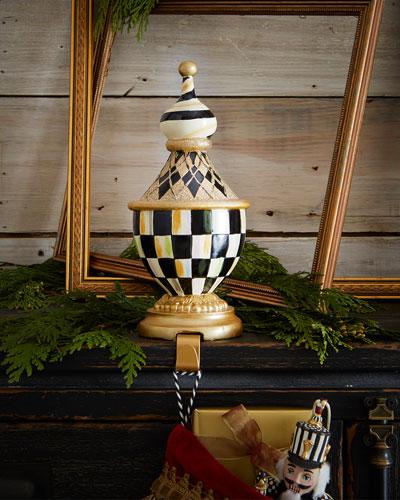 Tuxedo Christmas Stocking Hook