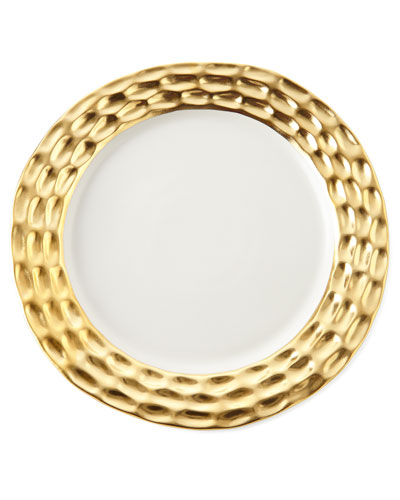Truro Gold Charger Plate