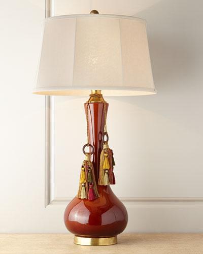 Bordeaux Ceramic Lamp
