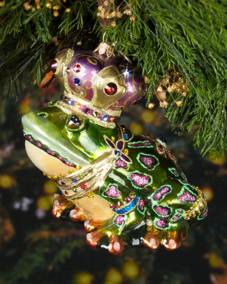 Prince Christmas Decorations.Frog Prince Christmas Ornament