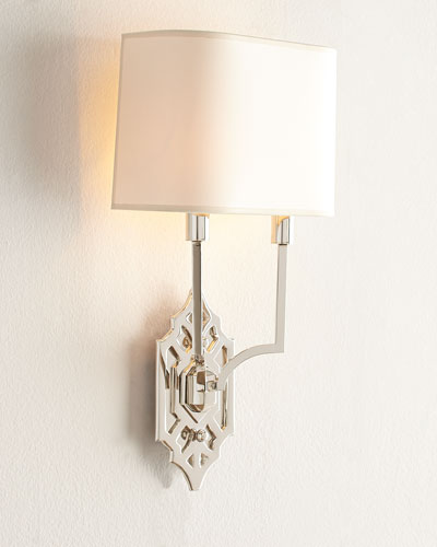 Silhouette Fretwork Wall Light
