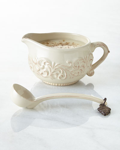 Sauce Boat with Ladle