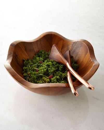 Salad Bowl with Servers