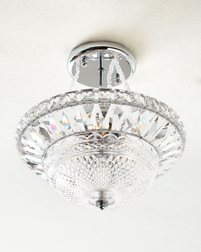 Crystal Hills Semi Flush Mount Ceiling Fixture