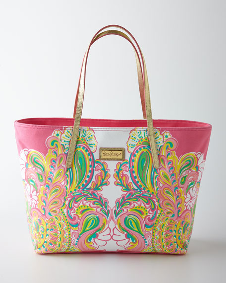 Hotty Pink Resort Tote Bag