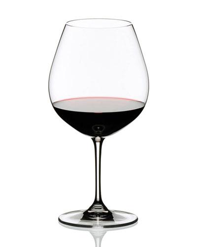 Two Vinum Burgundy Glasses