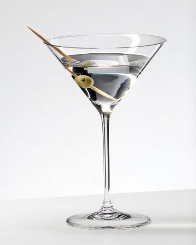 Two Vinum XL Martini Glasses