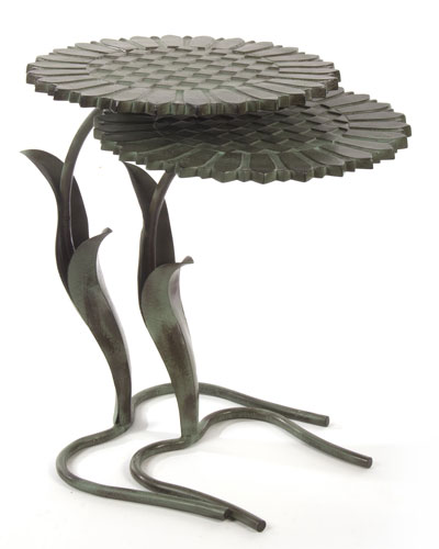 Sunflower Tables, 2-Piece Set