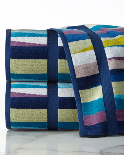 Romy Multicolored Bath Towel