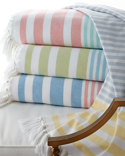 Ralph Lauren Greek Isles Beach Towel: Towels & Bath Mats : Bath Rugs At Neiman Marcus