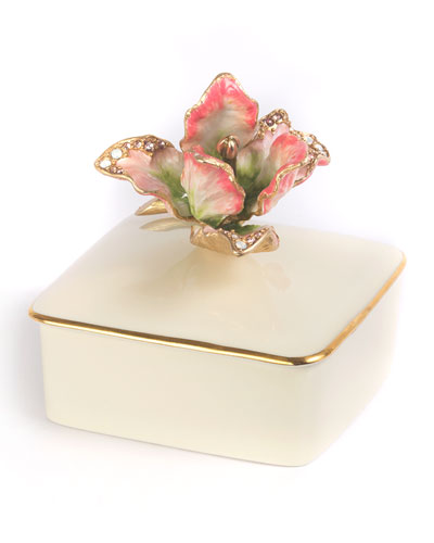 Tulip Porcelain Box